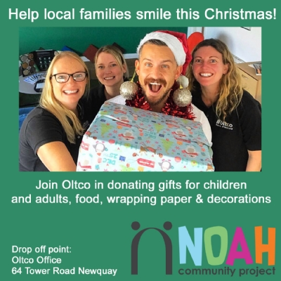 Oltco supports local charity for struggling families