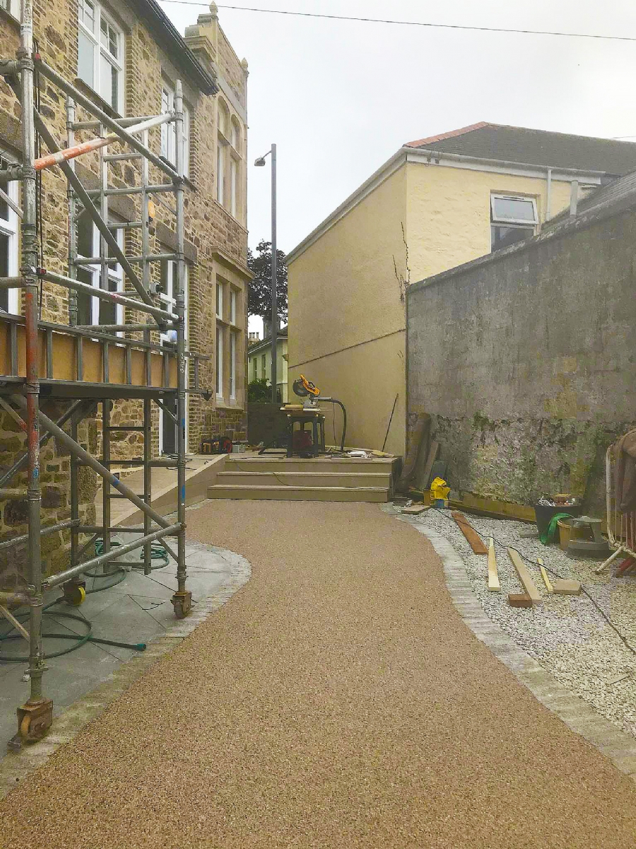 Paving for public areas