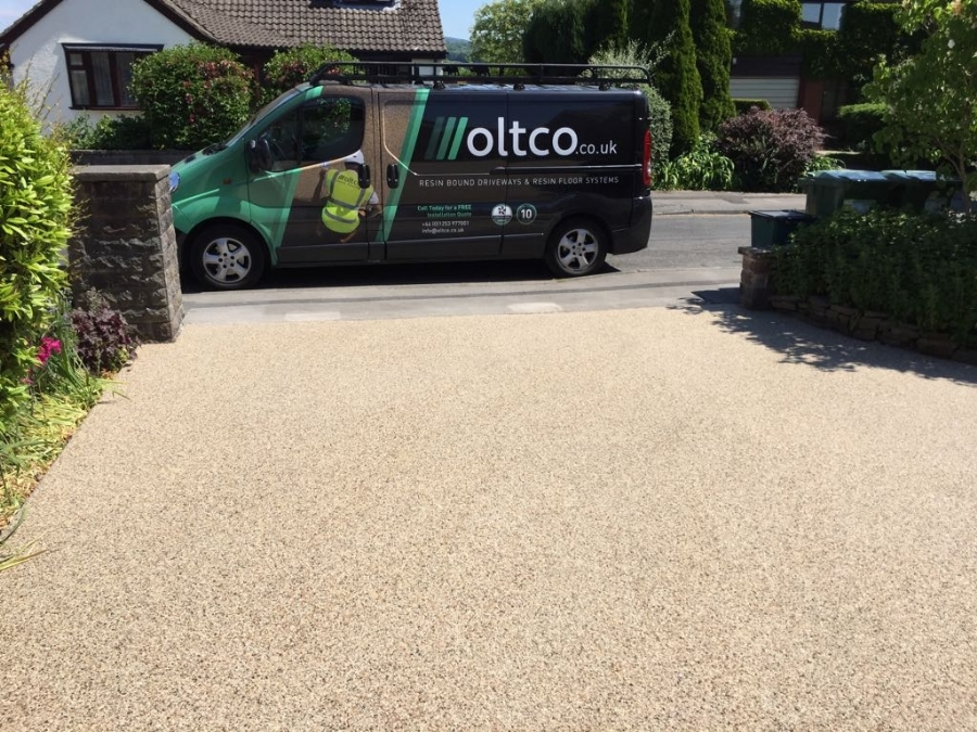 Resin Bound Gravel Driveways In Blackpool