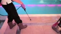 Non Slip Swimming Pool Floor Case Study