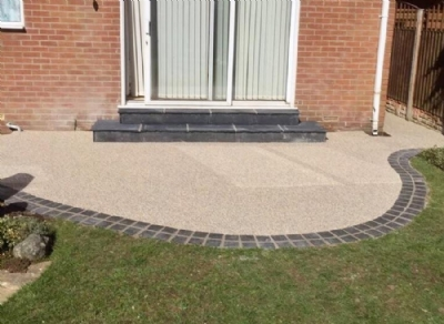 Resin Bound Gravel Patio in Blackpool