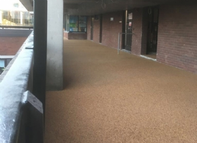 Manchester University Come To Oltco For Their Paving