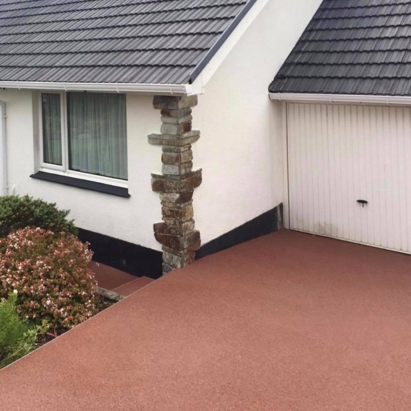 Oltco Resin Bound Gravel Driveways Cornwall | Projects | Updating an old surface