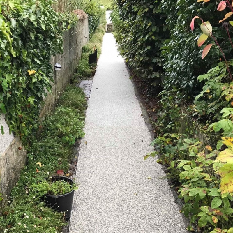 Oltco Resin Bound Gravel Driveways Cornwall | Projects | We got the DRIVE to follow the right PATH..