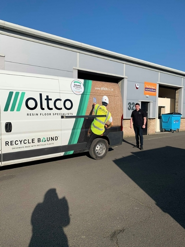 Oltco Resin Bound Gravel Driveways | News | Oltco Colchester gives back to the local community.