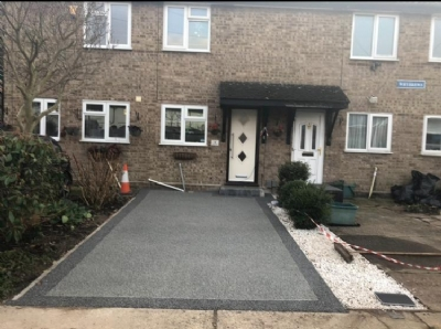 Oltco transforms property in Colchester with Recycle Bound Resin Driveway