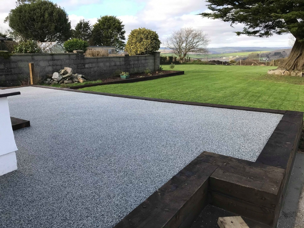 Oltco Resin Bound Gravel Driveways Cornwall | Projects | Returning Client