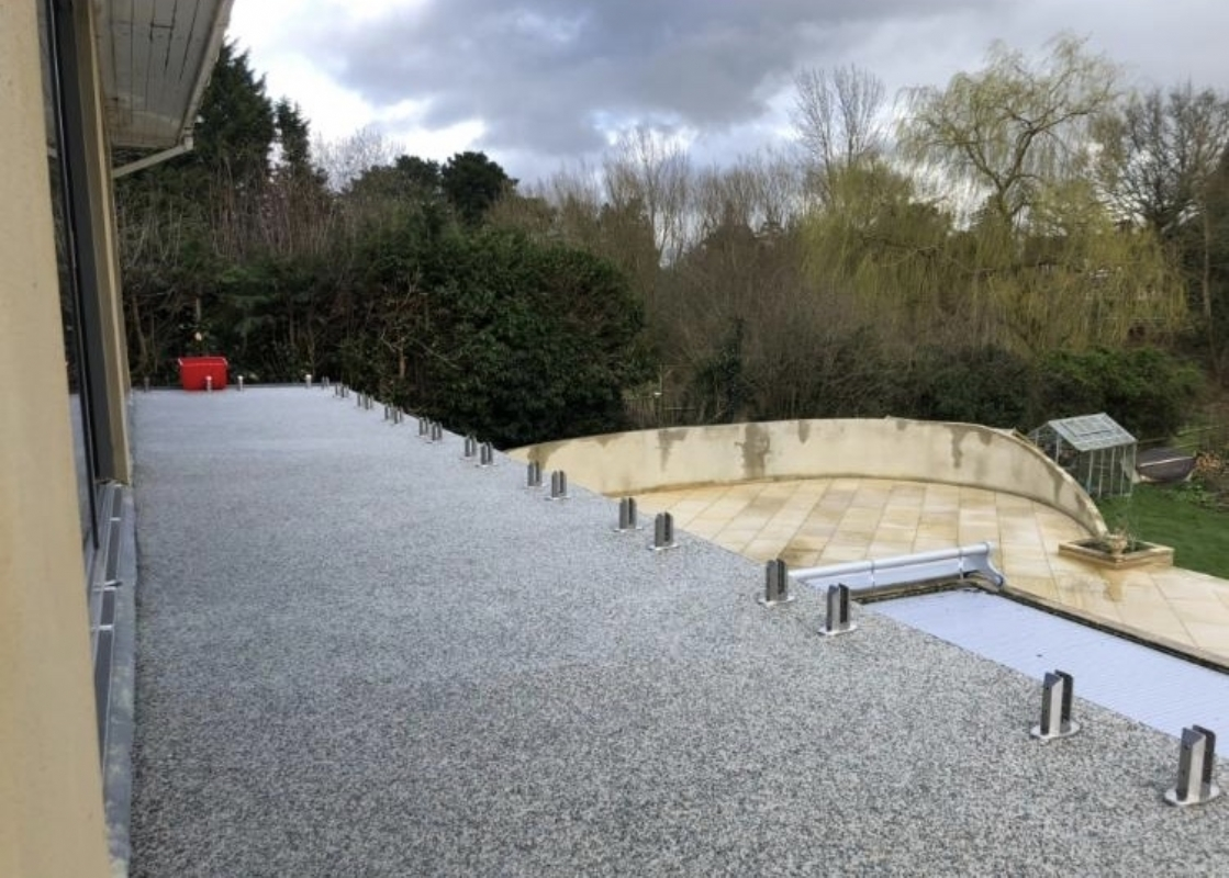 Oltco Resin Bound Gravel Driveways Cornwall | Projects | Oltco Colchester transforms balcony in Crawley