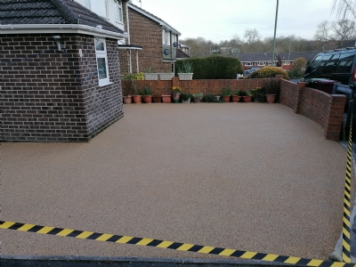 Oltco Bath transform customer's driveway