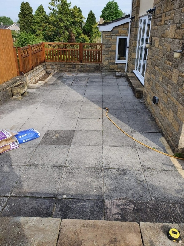 Resin Bound patio Gloucester