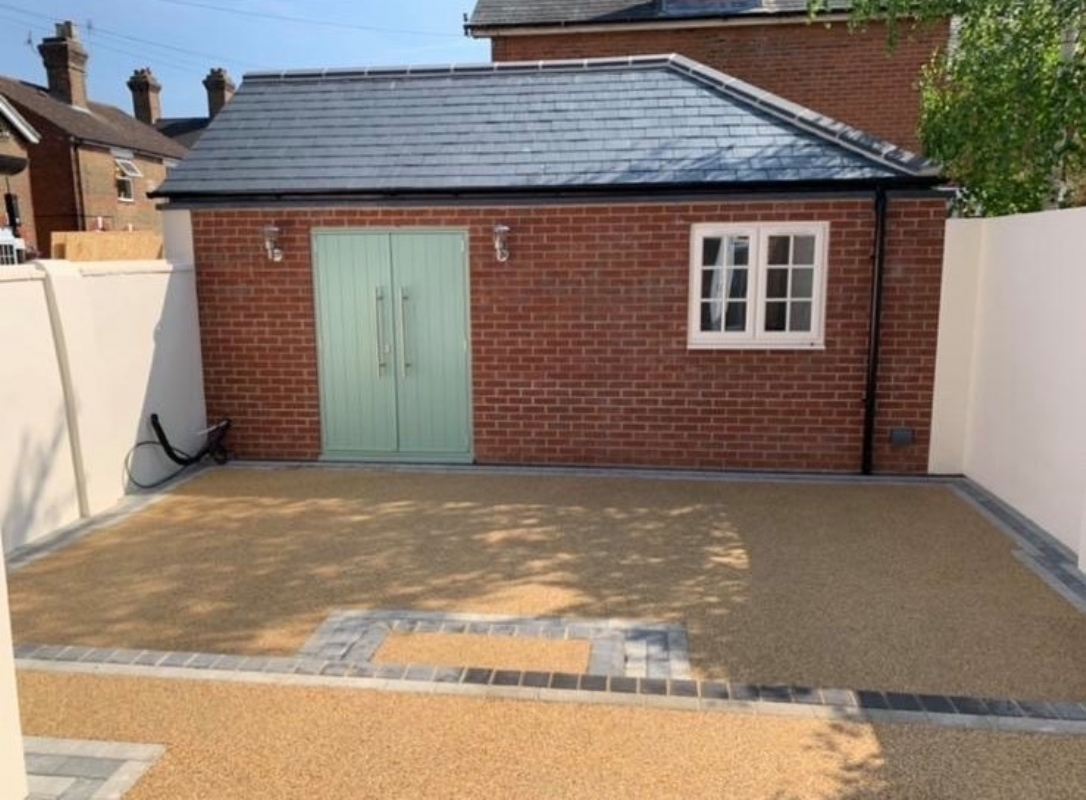 Resin Bound Patio Colchester