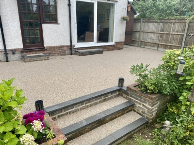Fistral Facelift For Tired Tarmac Courtyard
