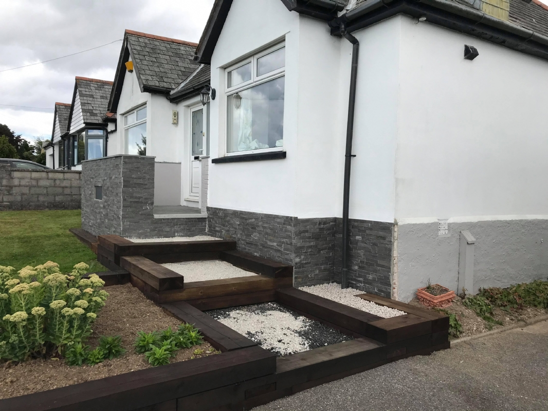 Oltco Cornwall provide the finishing touch for returning customer's patio area