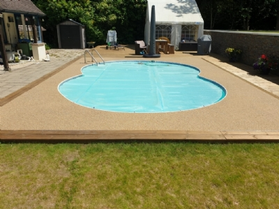 Oltco creates a perfect pool surround transformation with Recycle Bound
