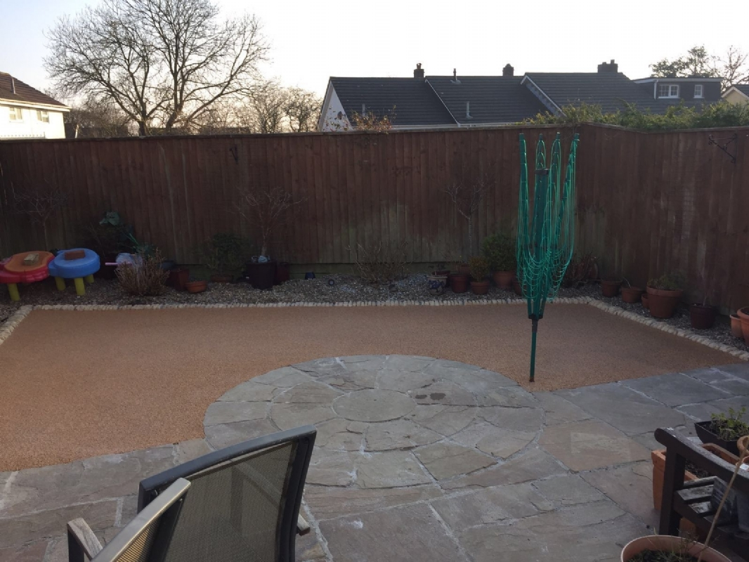 Oltco Resin Bound Gravel Courtyards