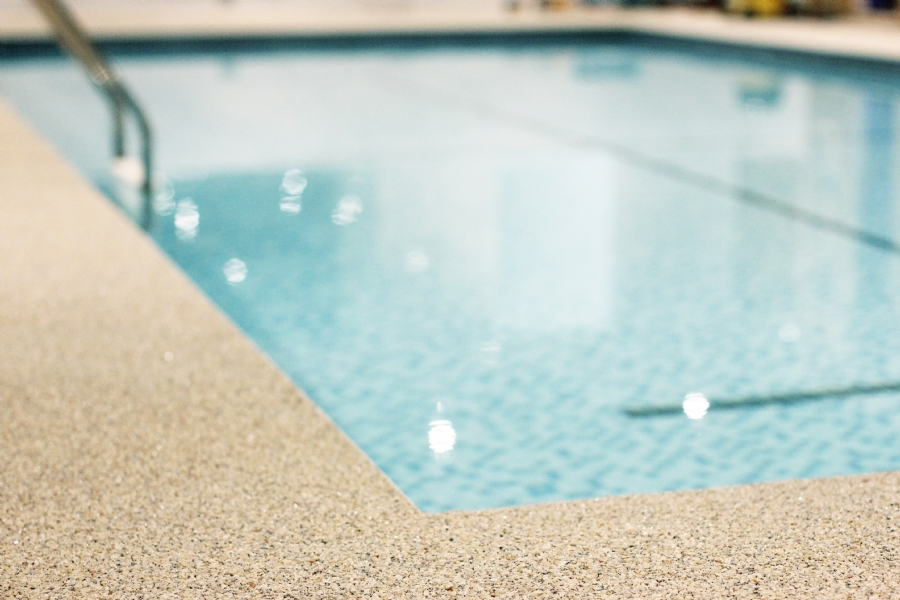 Transforming A Swimming Pool With A Practical And Attractive Surface