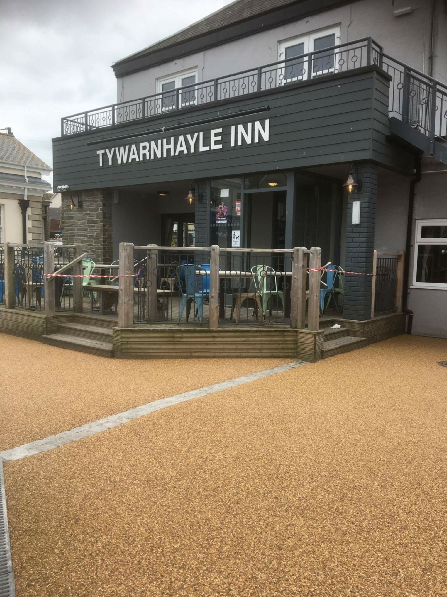 Tywarnhayle Inn recieves and Oltco facelift