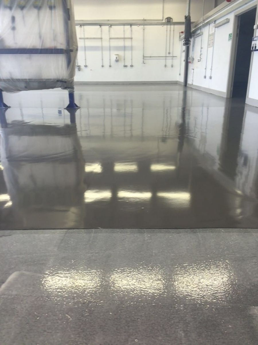 Self-Levelling Floor for Level heads