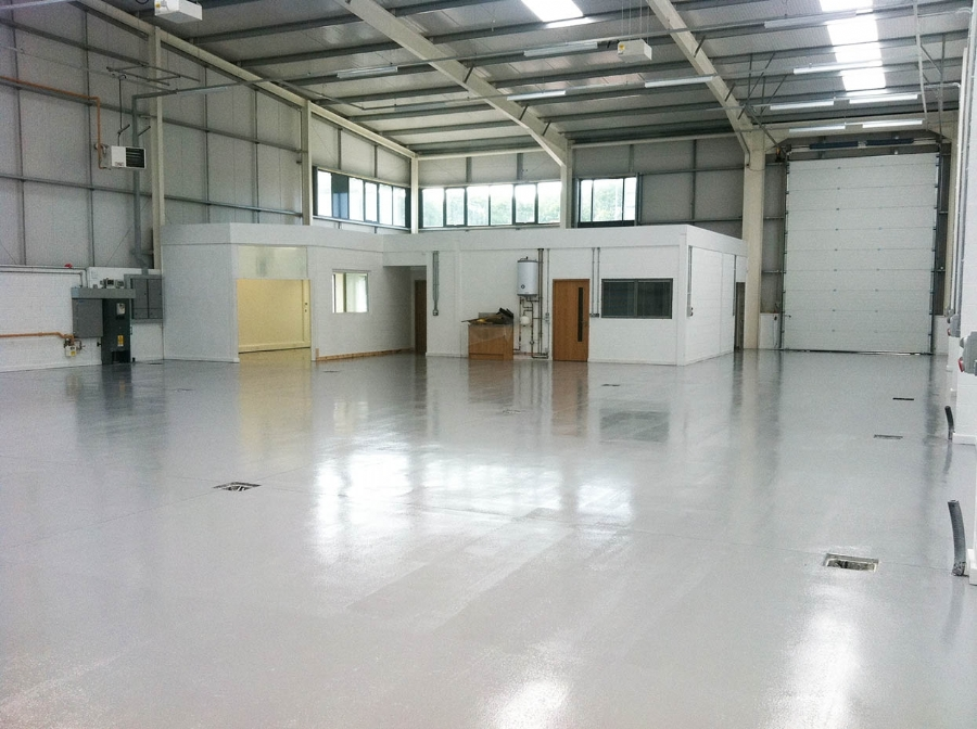 Epoxy Factory Floor Coating