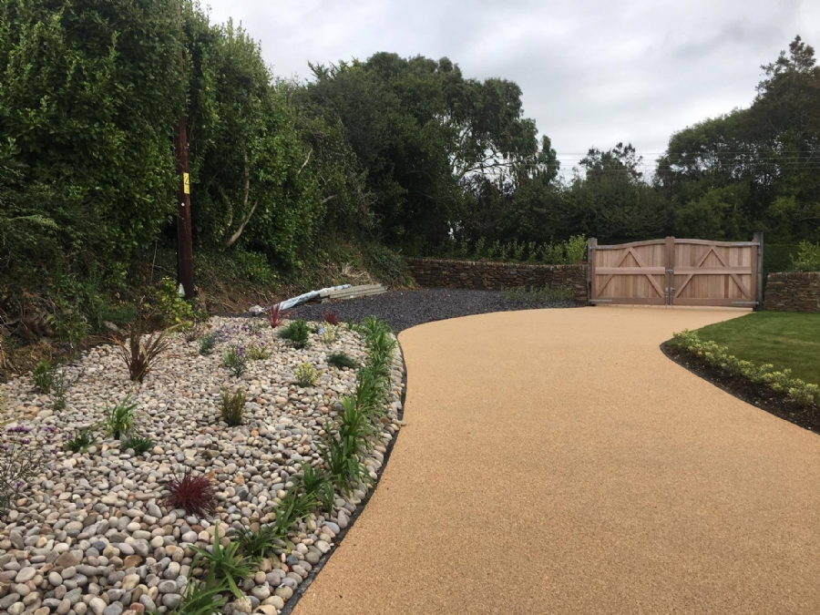 A perfect finish with resin bound gravel driveways from Oltco