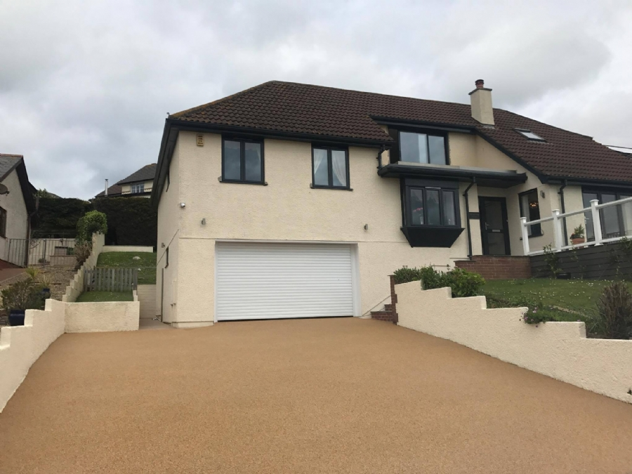 Resin Bound Driveway, Patio and Hot Tub
