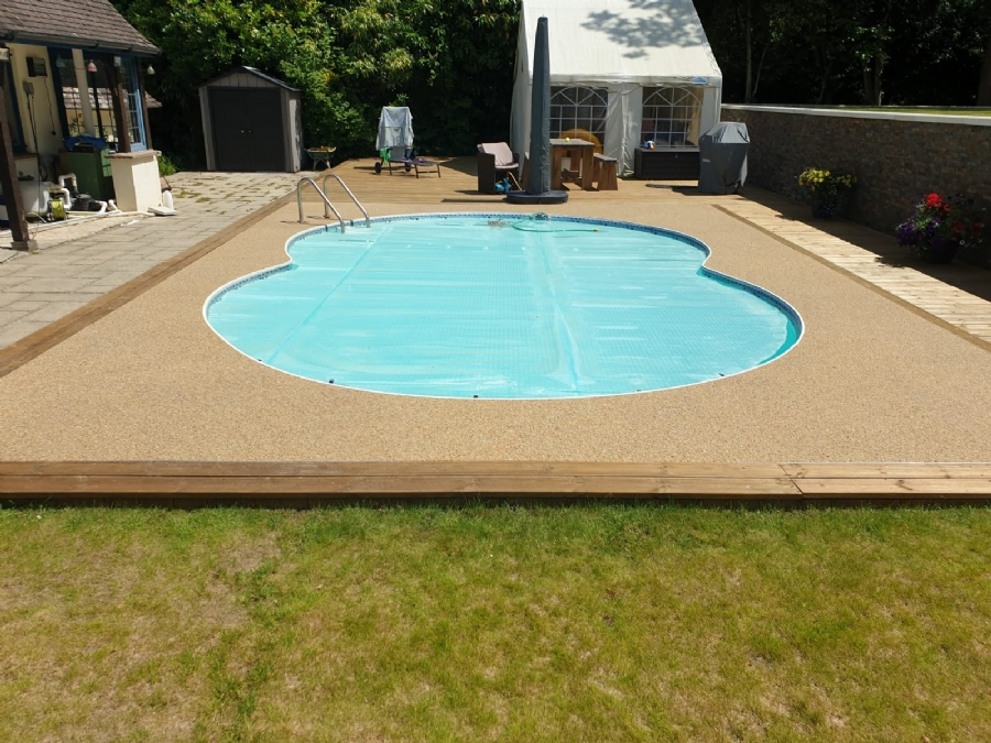 Oltco Bournemouth creates a perfect pool surround transformation with Recycle Bound