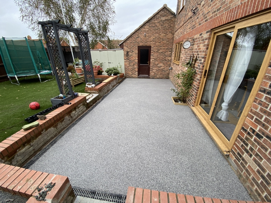 Perfect patio transformation for a customer in Colchester, Essex